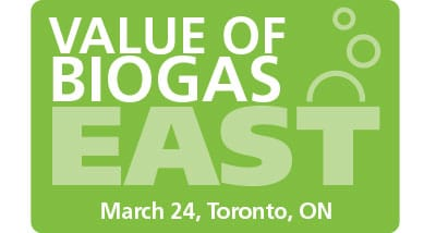 Value of Biogas East, March 23rd – 24th, 2017