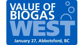 Value of Biogas West Friday January 27th, 2017