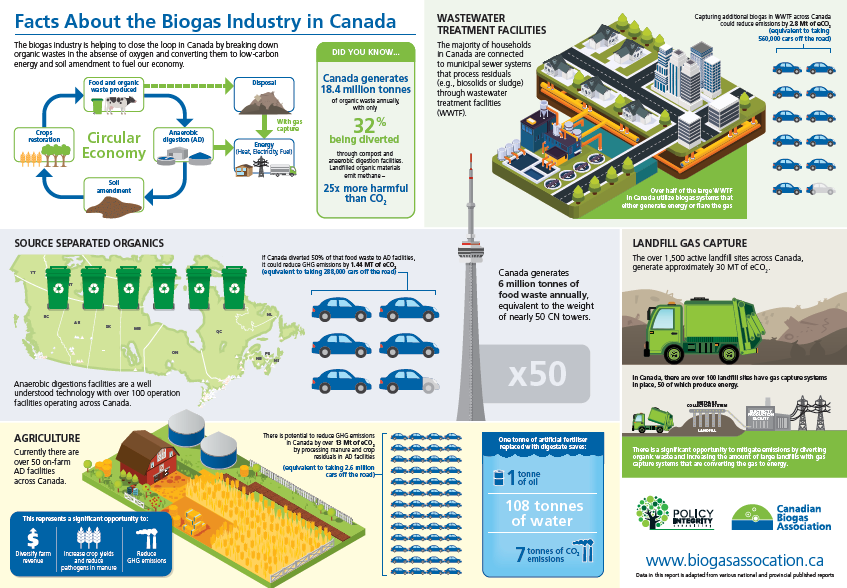 How is biogas used?
