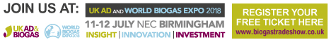 UK AD and World Biogas Expo 2018
