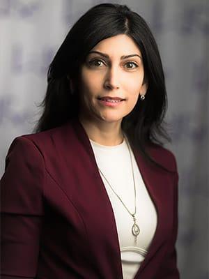 Portrait of Anahita Rabii