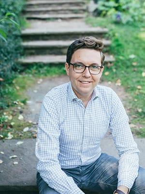 Portrait of Andrew White