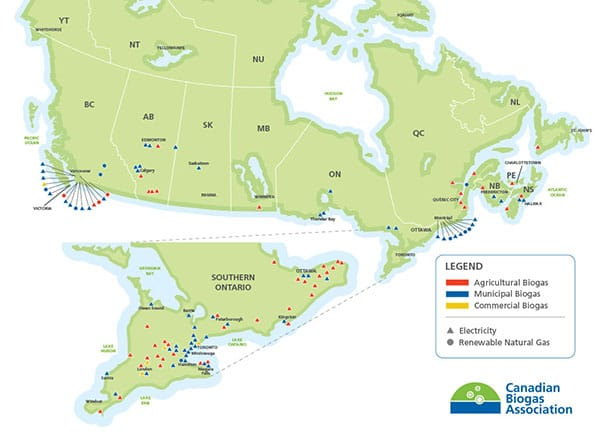 Biogas Projects in Canada